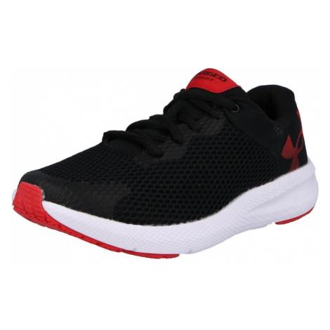 UNDER ARMOUR Sportovní boty 'Charged Pursuit 2' černá / červená