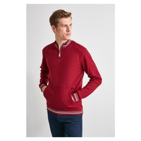 Men's sweatshirt Trendyol Zip detailed