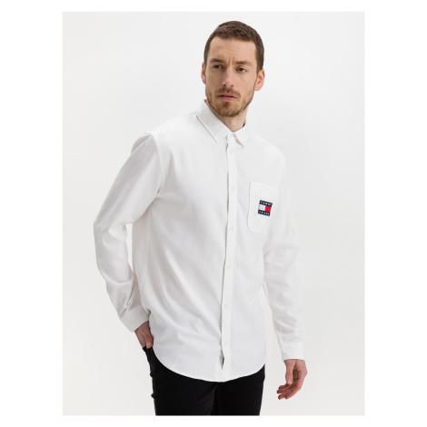 Košile Tommy Jeans Bílá Tommy Hilfiger