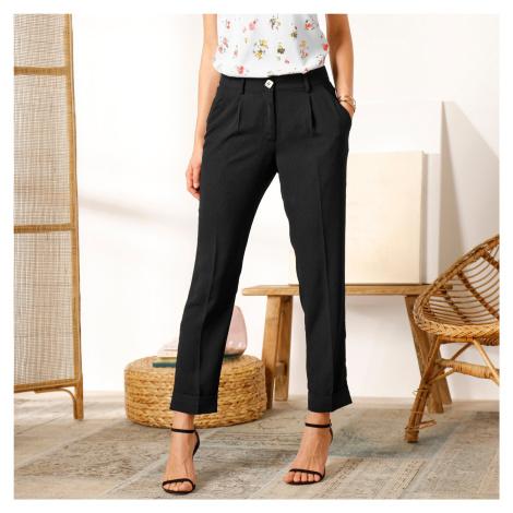 Blancheporte 7/8 vzdušné kalhoty černá