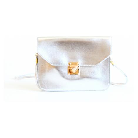 BRIGHT Společenská kabelka Stříbrná, 21 x 2 x 16 (BR17-WSJ2-25SYN)