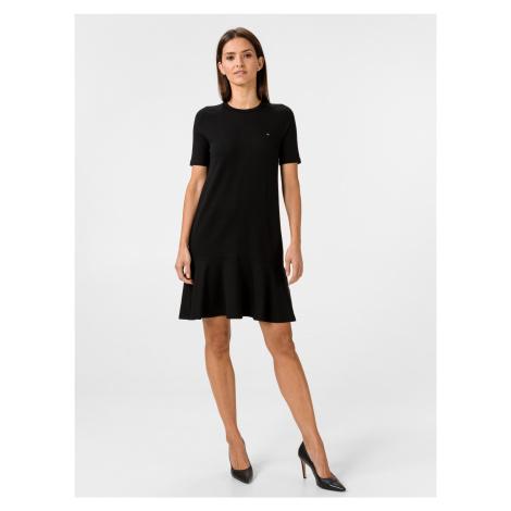 Tiffany Šaty Tommy Hilfiger Černá