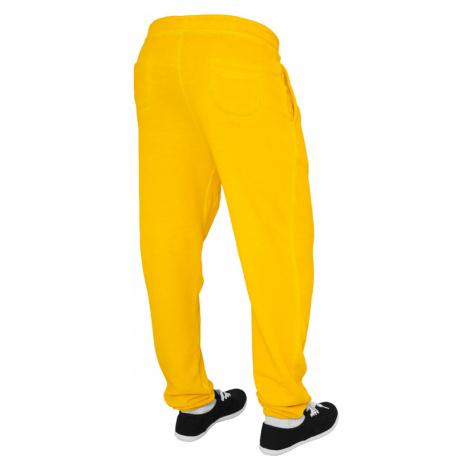 Ladies Spray Dye Sweatpant - yellow Urban Classics
