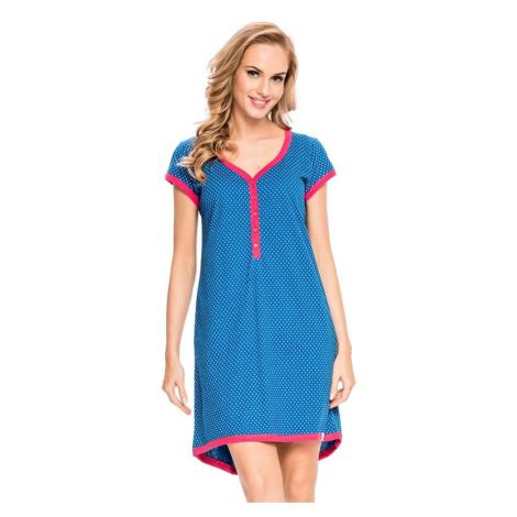 Dámská noční košile Diti modrá