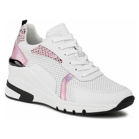 Sneakersy CAPRICE - 9-23722-26 White/Pink Com 112
