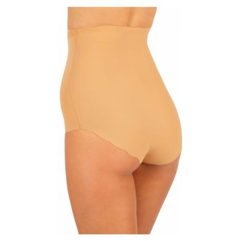 LITEX Stahovací bezešvé kalhotky se zvýš. pasem 99244428 tělová