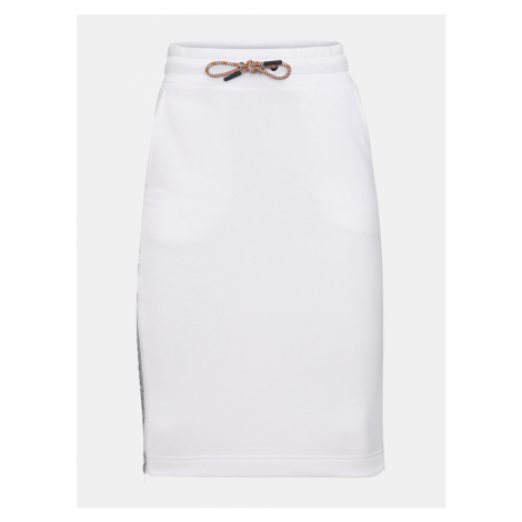 Sukně Peak Performance W Bounce Logo Skirt - Bílá
