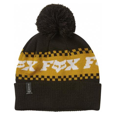 Čepice Fox Overkill black/yellow