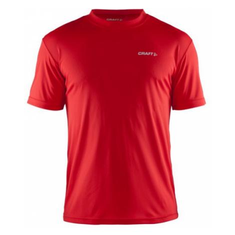 Pánské tričko CRAFT Prime červená