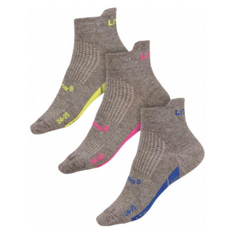 LITEX Sportovní ponožky CoolMax 9A016602 reflexně zelená