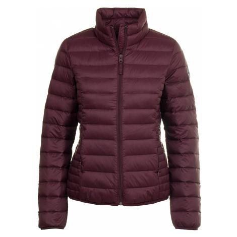 Abercrombie dámská péřová bunda fialová