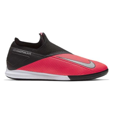 Nike PHANTOM VISION 2 ACADEMY DYNAMIC FIT IC červená - Pánské sálovky