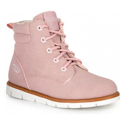 LOAP VIVA Dětské zimní boty KBJ20172J34A Candy Pink | White