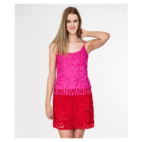 Růžovo-červené šaty - GALLIANO John Galliano