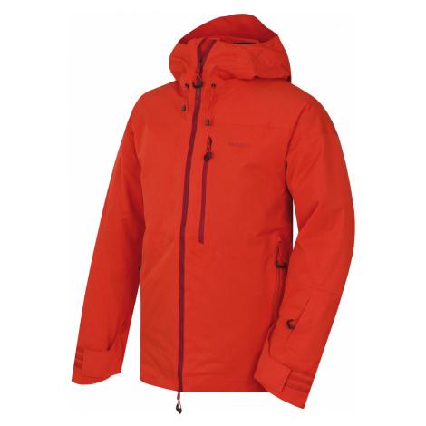 Husky Gomez M, cihlová Pánská lyžařská bunda