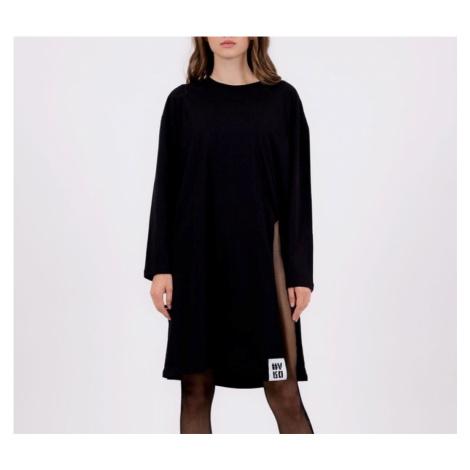 #VDR L/S Black dlhé tričko