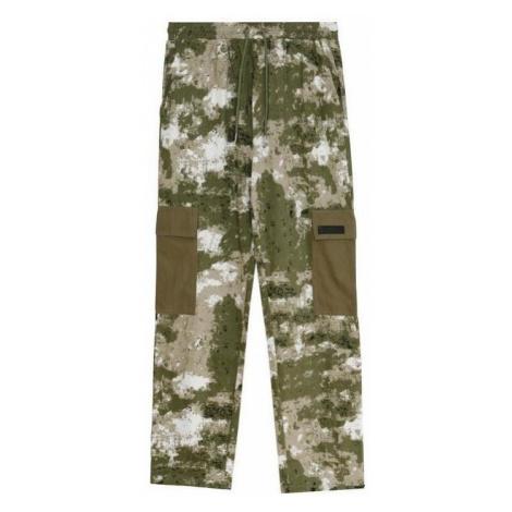 Sixth June Pantalon Cargo Camouflage Zelená