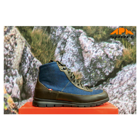 Dachstein Emil pánské zimní boty modro hnědé