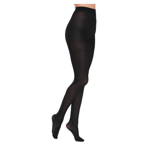 Blancheporte Neprůhledné punčochové kalhoty, sada 2 párů černá
