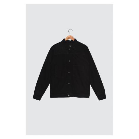 Trendyol Black Men's Patched Outer Pocket Jacket
