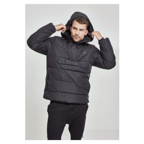 Pull Over Puffer Jacket - black Urban Classics