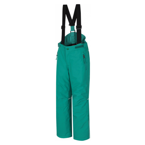 HANNAH AKITA JR II Dětské lyžařské kalhoty 10005160HHX01 golf green