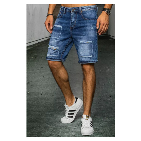 Men's denim blue shorts Dstreet SX1521