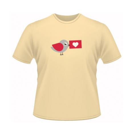Pánské tričko SuperStar Ptáček s dopisem