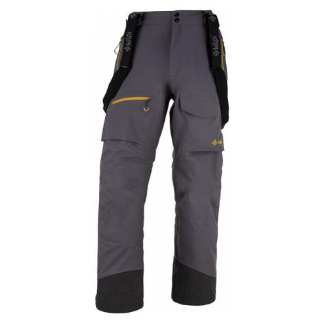 Pánské 3 vrstvé technické kalhoty KILPI HYDE-M tmavě šedá
