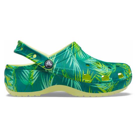 Crocs Classic Platform TropicalClogW Mlt