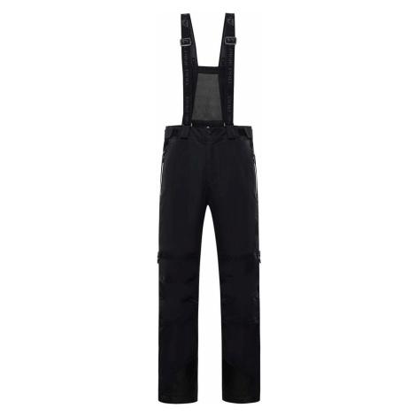ALPINE PRO NUDD 6 Pánské lyžařské kalhoty MPAS475990 černá