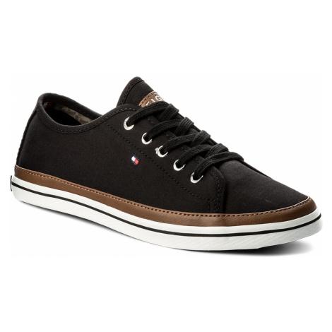 Tenisky TOMMY HILFIGER - Iconic Kesha Sneaker FW0FW02823 Black 990