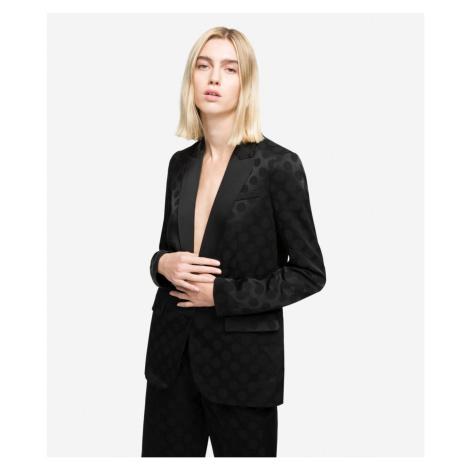 Blejzr Karl Lagerfeld Karl Dots Tailored Blazer - Černá