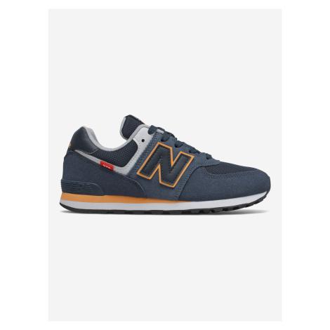 574 Tenisky dětské New Balance Modrá