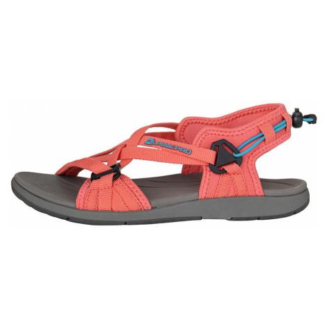 Dámské letní sandály Alpine Pro CHESTRA - oranžová