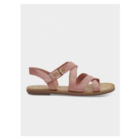 Sandále TOMS Růžová