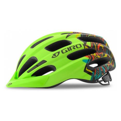 Dětská cyklistická helma Giro Hale Matte Lime