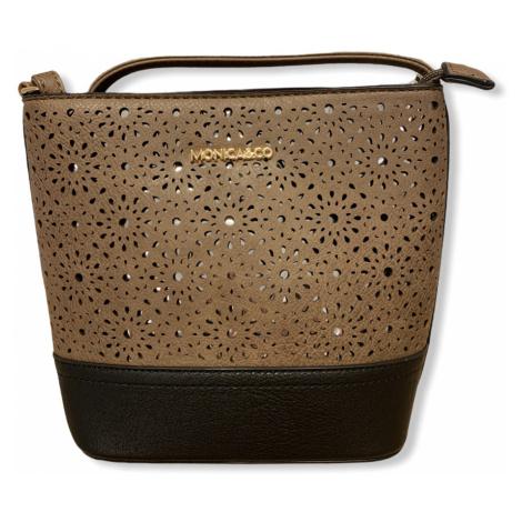 Dámská kabelka Beatrice, hnědá Monica&Co