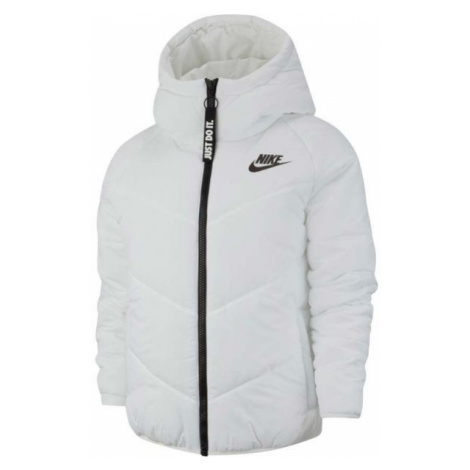 Nike NSW WR SYN FILL JKT HD bílá - Dámská bunda