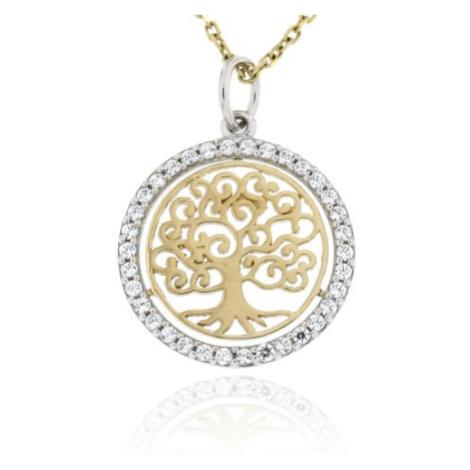 Zlatý přívěsek strom života 130MŽ
