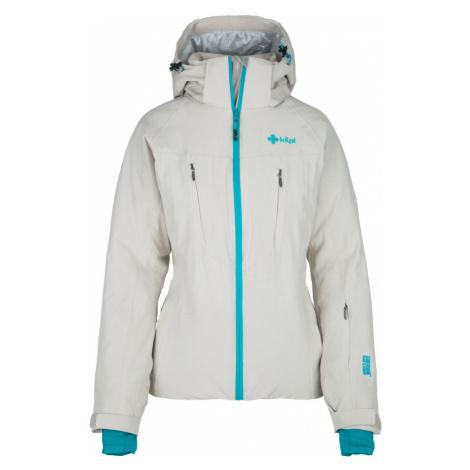KILPI Dámská lyžařská bunda ADDISON-W JL0099KIBEG Béžová