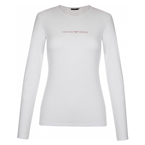 Emporio Armani Underwear Emporio Armani Visibility cotton tričko dlouhý rukáv - bílé