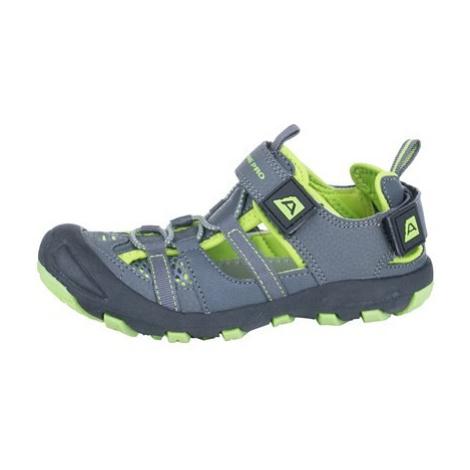 Dětská letní obuv Alpine Pro BILPIN - šedá