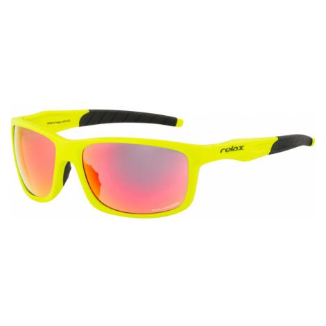 RELAX GAGA Sportovní brýle R5394J černo-žlutá 48