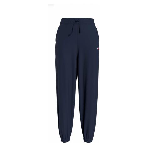 Tommy Hilfiger Tommy Jeans dámské tmavě modré tepláky ORGANIC BADGE SWEATPANT