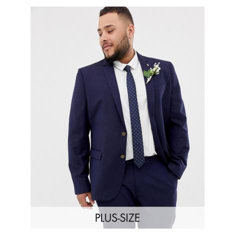 Farah skinny wedding suit jacket in linen