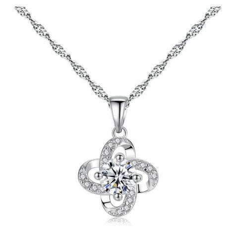 Linda's Jewelry Stříbrný náhrdelník Posvátný Květ Ag 925/1000 INH134