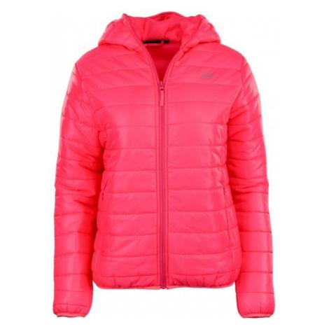 ALPINE PRO FRANA růžová - Dámská zimní bunda