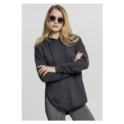 Ladies Oversized Terry Hoody - charcoal Urban Classics
