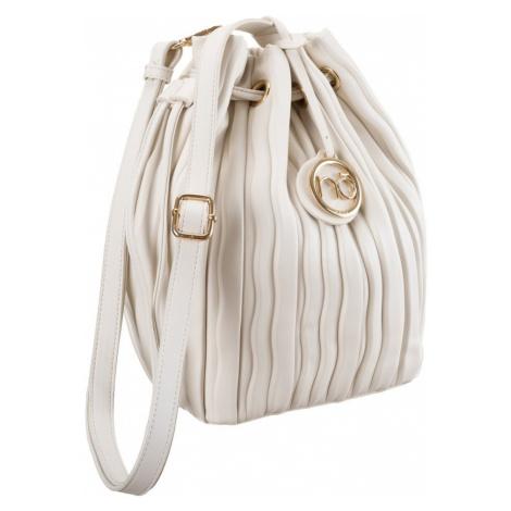 Skládaná kabelka z eko kůže taška s přívěskem - Nobo